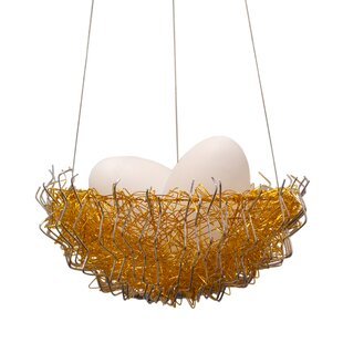 Ivy Bronx Verlie Metal 2-Light Bowl Pendant