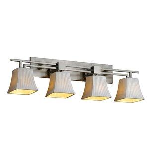 Darby Home Co Gudruna Modern 4-Light Vanity Light