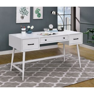 Deshaun 3 Drawer Writing Desk by George Oliver Reviews