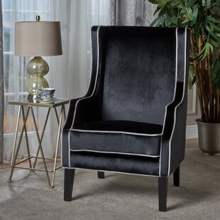 Everly Quinn Dowland Accent Wingback Chair