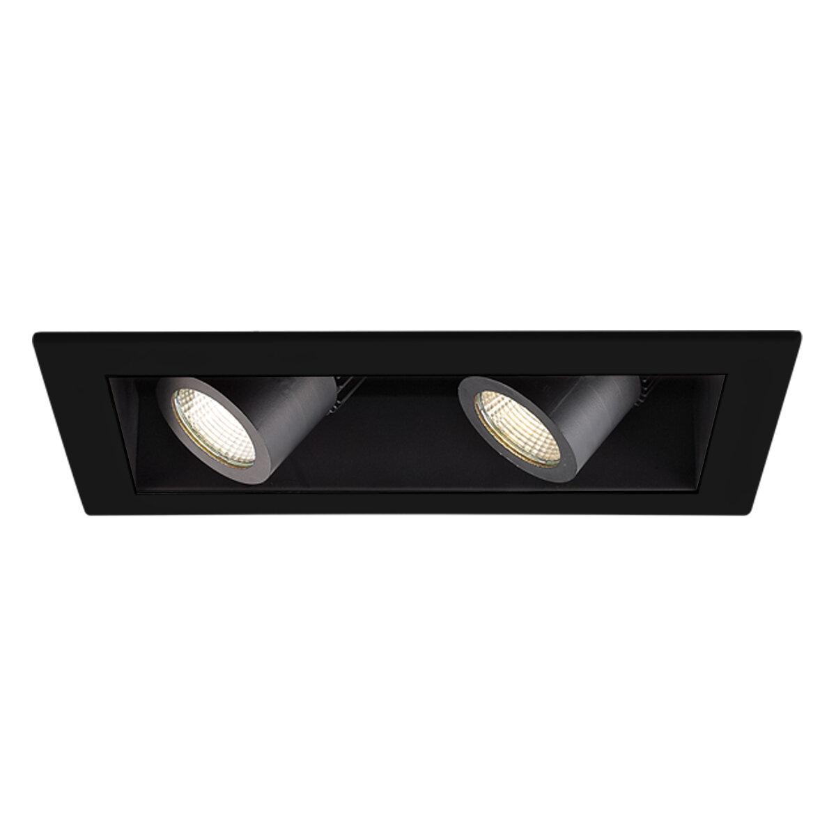 Wac Lighting Precision Led Multi Spotlight Recessed Lighting Kit Wayfair