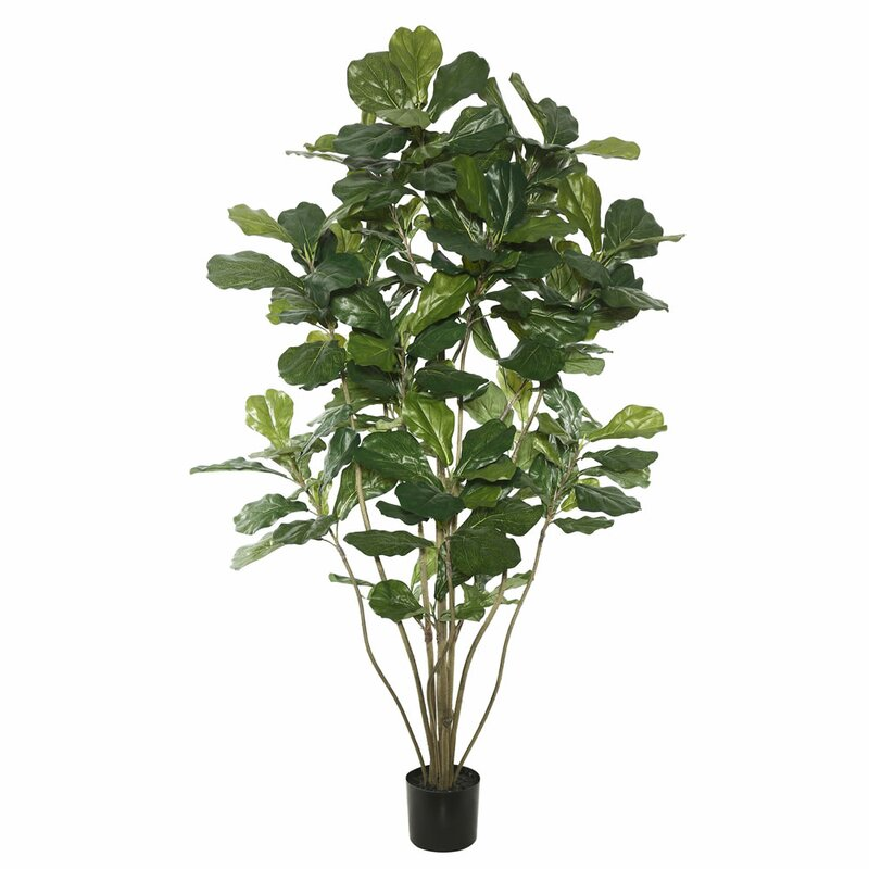 faux fiddle leaf fig tree in pot - Fiddle Leaf Fig Tree