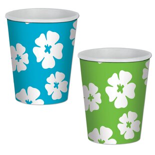 Hibiscus Paper Disposable Cup