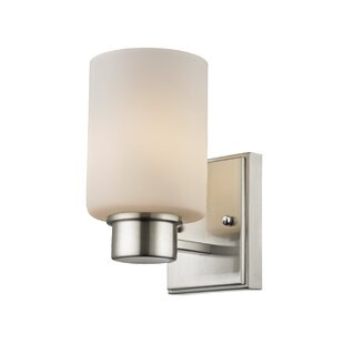 Brayden Studio Brazelton 1-Light Bath Sconce