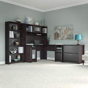Coalton 4 Piece L-Shape Desk Office Suite by Andover Mills
