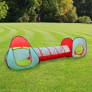 3 Piece Kids Pop-Up Play Tunnel by Hey! Play!