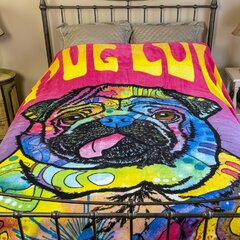Pug Blanket Wayfair Ca
