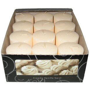Candle-Lite Vanilla Wafer Votive Candle (Set of 12)