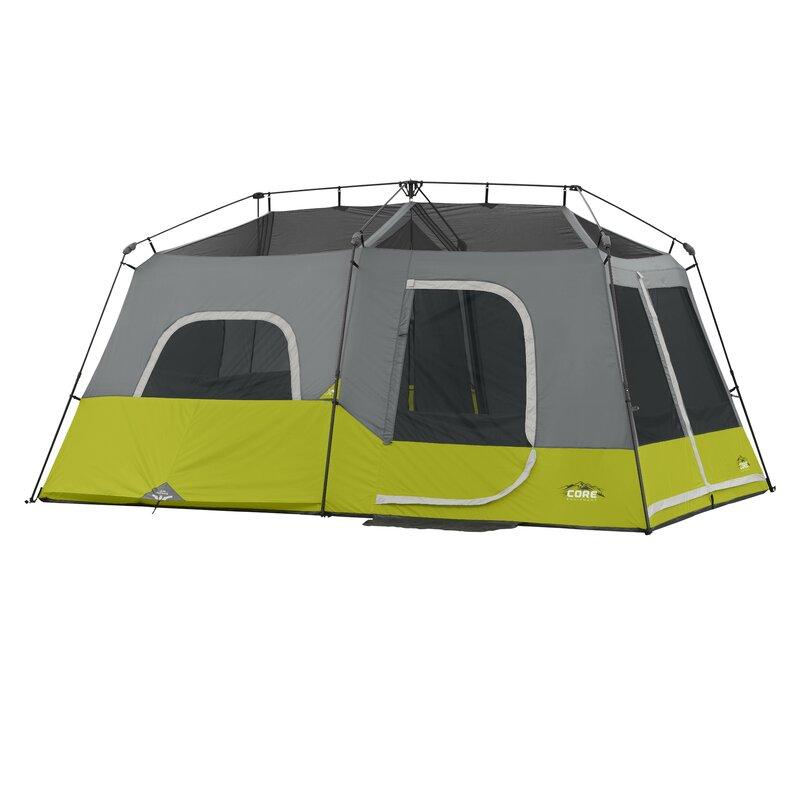 9 Person Instant Cabin Tent  sc 1 st  Wayfair & CoreEquipment 9 Person Instant Cabin Tent u0026 Reviews | Wayfair