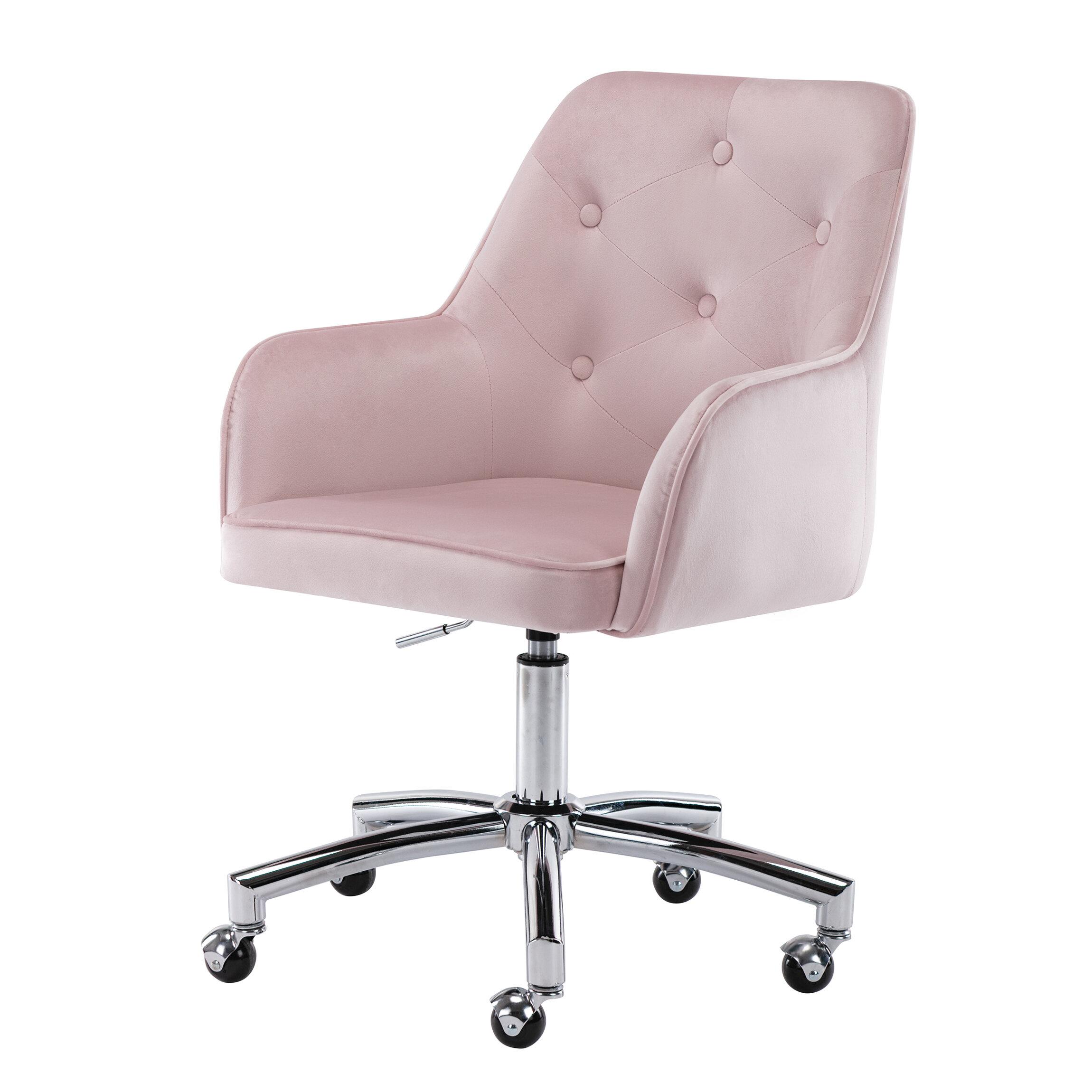 Everly Quinn Will Home Office Velvet Task Chair Reviews Wayfair