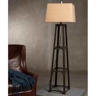 Online Reviews Cohle 63 Column Floor Lamp By 17 Stories