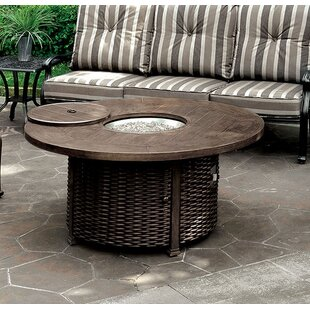 Andrew Home Studio Jocelyn Aluminum Propane Fire Pit Table
