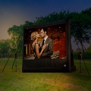 Professional Outdoor Portable Projection Screen