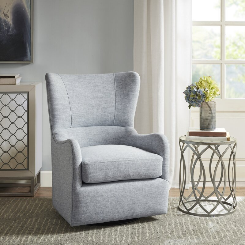Laurel Foundry Modern Farmhouse Grangeville Swivel Glider Reviews Wayfair