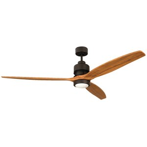 52″ Spillman 3-Blade Ceiling Fan Kit with Remote