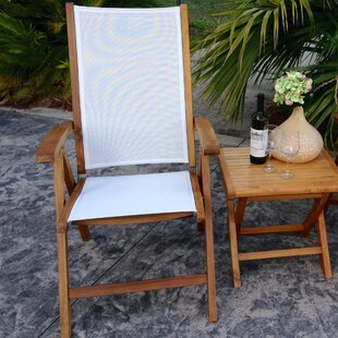California Folding Teak Patio Dining Chair