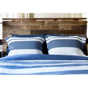 Longshore Tides Vennie 100% Cotton Reversible Duvet Set