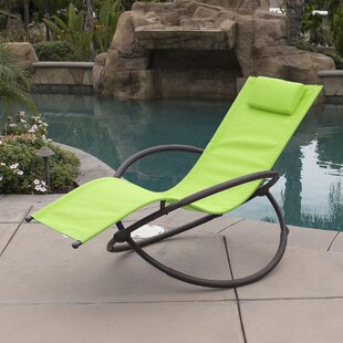 Belleze Orbital Chaise Lounge with Cushion