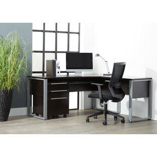 Ebern Designs Afton 2 Piece Office Set