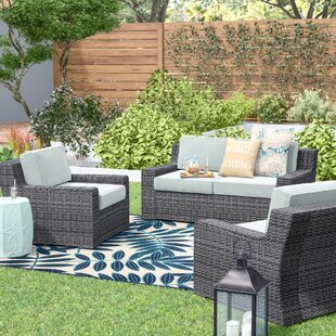 Linwood 3 Piece Sofa Set with Cushions