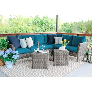 Daventry 6 Piece Sectional Set with Cushions