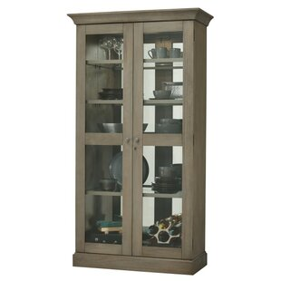 Darby Home Co Broaddus Lighted Curio Cabinet