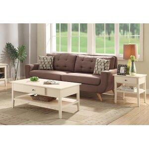 Celina Wood Coffee Table Set