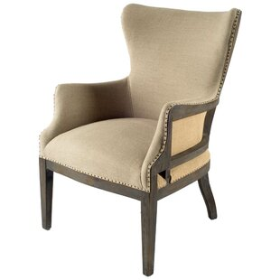 Nicolao Wingback Chair by One Allium Way