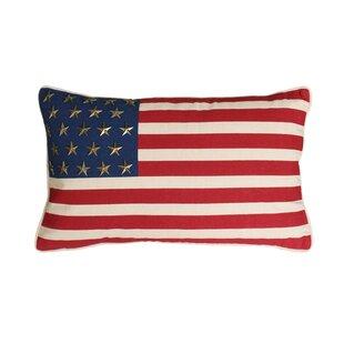Ideal Vintage American Flag Pillow | Wayfair NN24