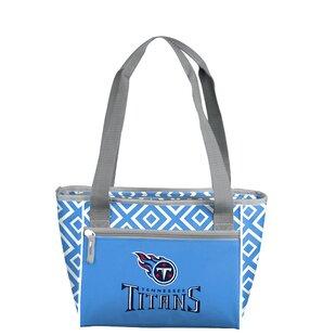 Logo Brands 16 Can NFL DD Picnic Tote Cooler