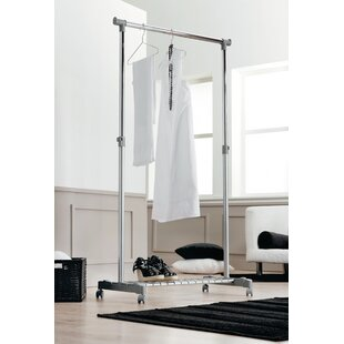 Christiano 83.5cm Wide Clothes Rack By Rebrilliant