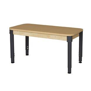 Comparison Rectangle High Pressure Laminate Table (Adjustable Legs) ByWood Designs