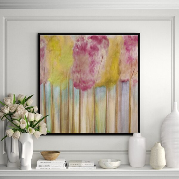 Jbass Grand Gallery Collection Soft Orchid Morning Framed Print On Canvas Perigold
