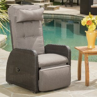 Groovy Keenes Recliner Patio Chair With Cushion Ncnpc Chair Design For Home Ncnpcorg