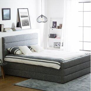 Valbonne Upholstered Bed Frame By Wade Logan