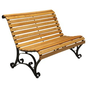 Simply Slatted Outdoor Garden Bench