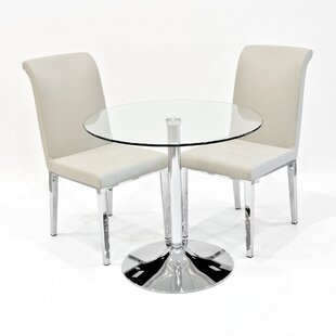 Discount Andrews Dining Set With 2 Chairs