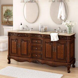 Best Review Pillsbury 72 Double Bathroom Vanity Set ByAstoria Grand