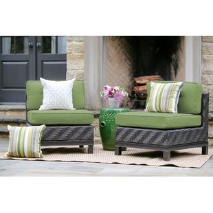 Yara Patio Chair with Sunbrella Cushions (Set of 2)