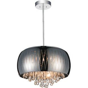CWI Lighting Movement 6-Light Chandelier