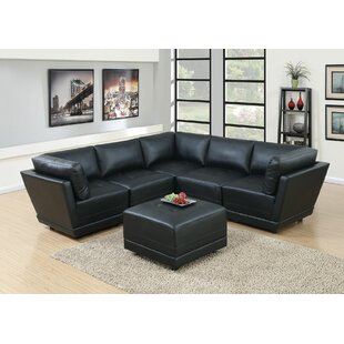 Williford Modular Sectional with Ottoman  by Orren Ellis