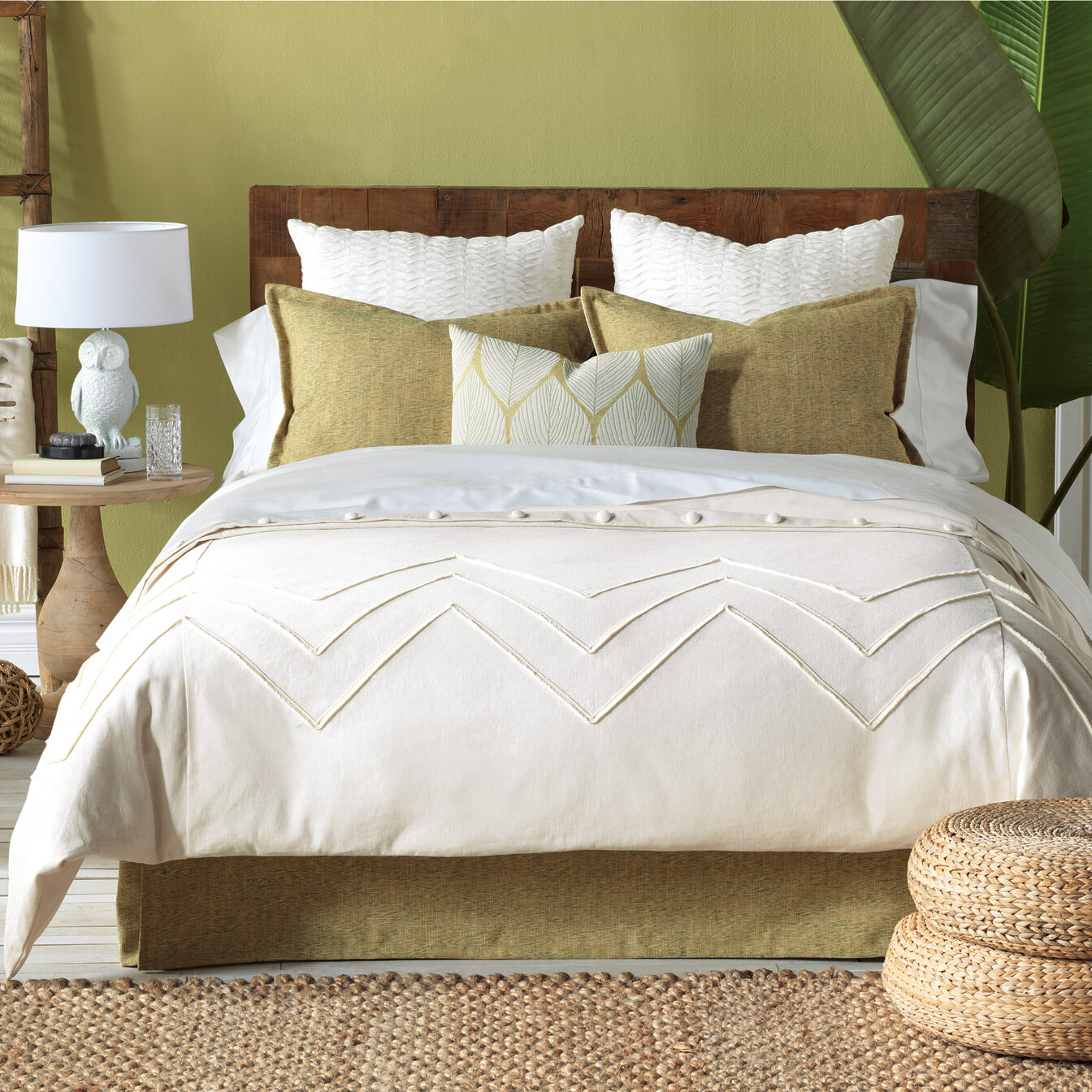 . Earthy Bedroom Decorating   Wayfair