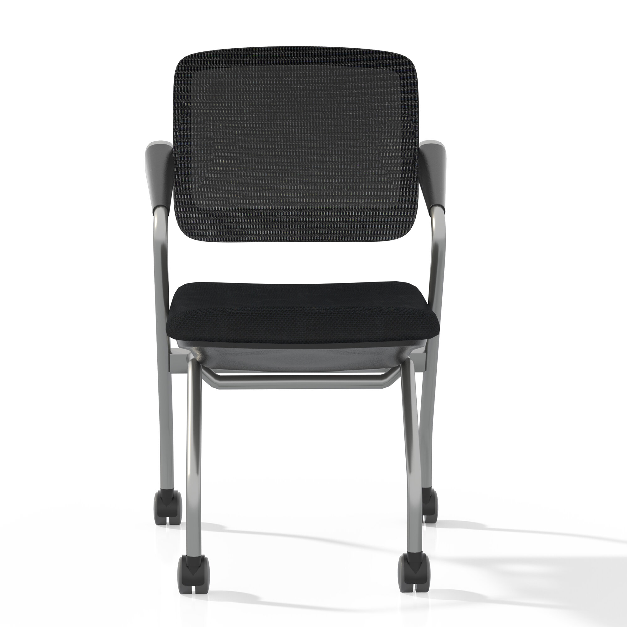 Picture of: Mayline Valore Training Series Fabric Padded Folding Chair Wayfair