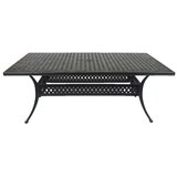 St. Tropez 76X42 inch Rectangle Dining Table
