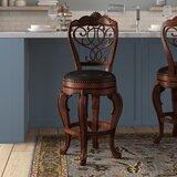 Encarnacion Bar & Counter Swivel Stool by Astoria Grand