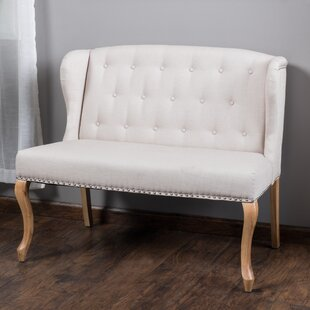 August Grove Epone Upholstered Bench