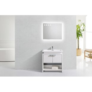 Haycraft Modern Cubby Hole 32 Freestanding Single Bathroom Vanity By Orren Ellis