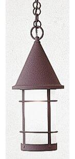 Arroyo Craftsman Valencia 1-Light Outdoor Pendant