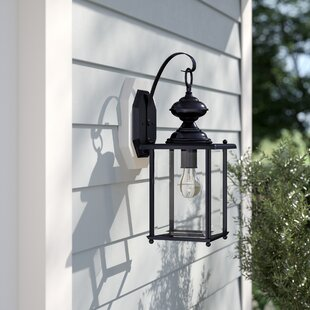 Kalmar 1-Light Outdoor Wall Lantern by Sol 72 Outdoor
