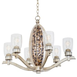 Kalco Largo 6-Light Shaded Chandelier